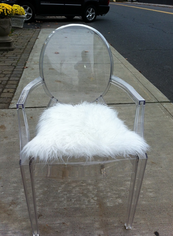 Louis Ghost Chair With Cushion