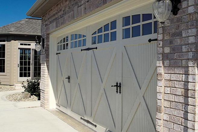 Metal Carriage Garage Doors