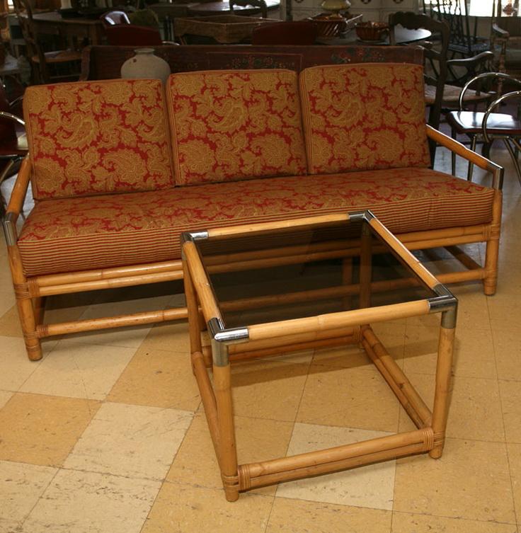 Mid Century Sofa Table