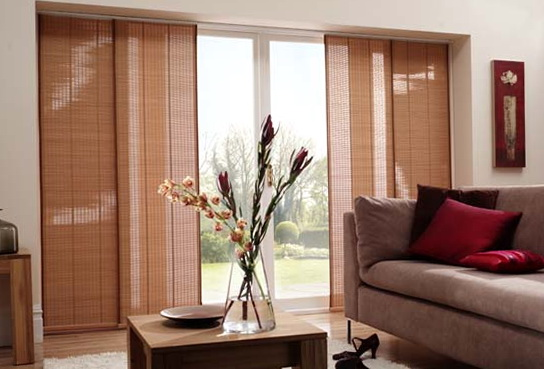 Modern Sliding Glass Door Blinds