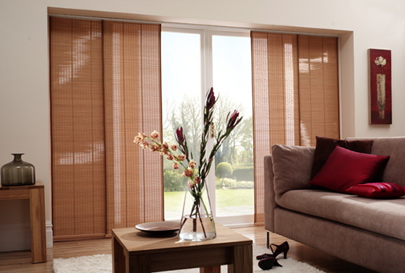 Modern Window Treatments For Sliding Glass Doors