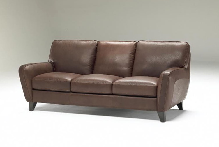 Natuzzi Leather Sofa Bed