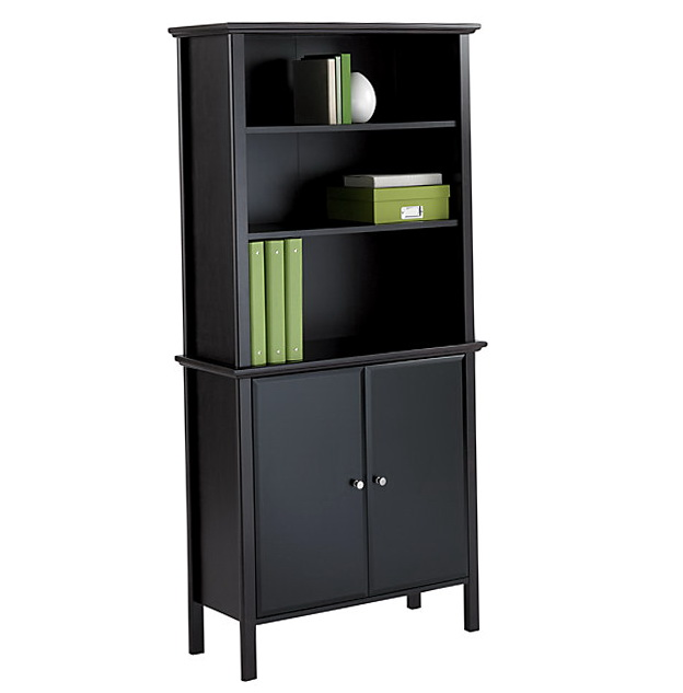 Office Bookcases With Doors