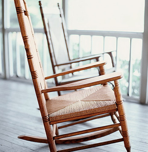 Old Porch Rocking Chairs