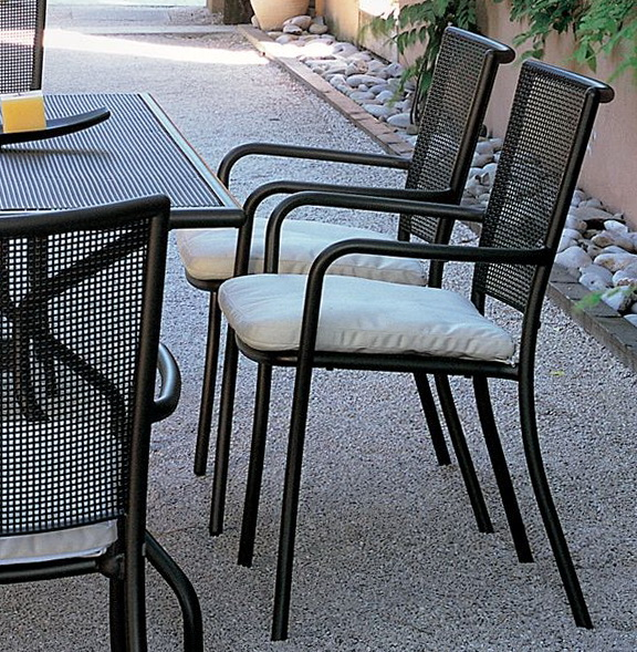 Outdoor Metal Dining Chairs