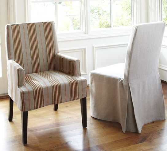 Parson Chair Slipcovers Pottery Barn