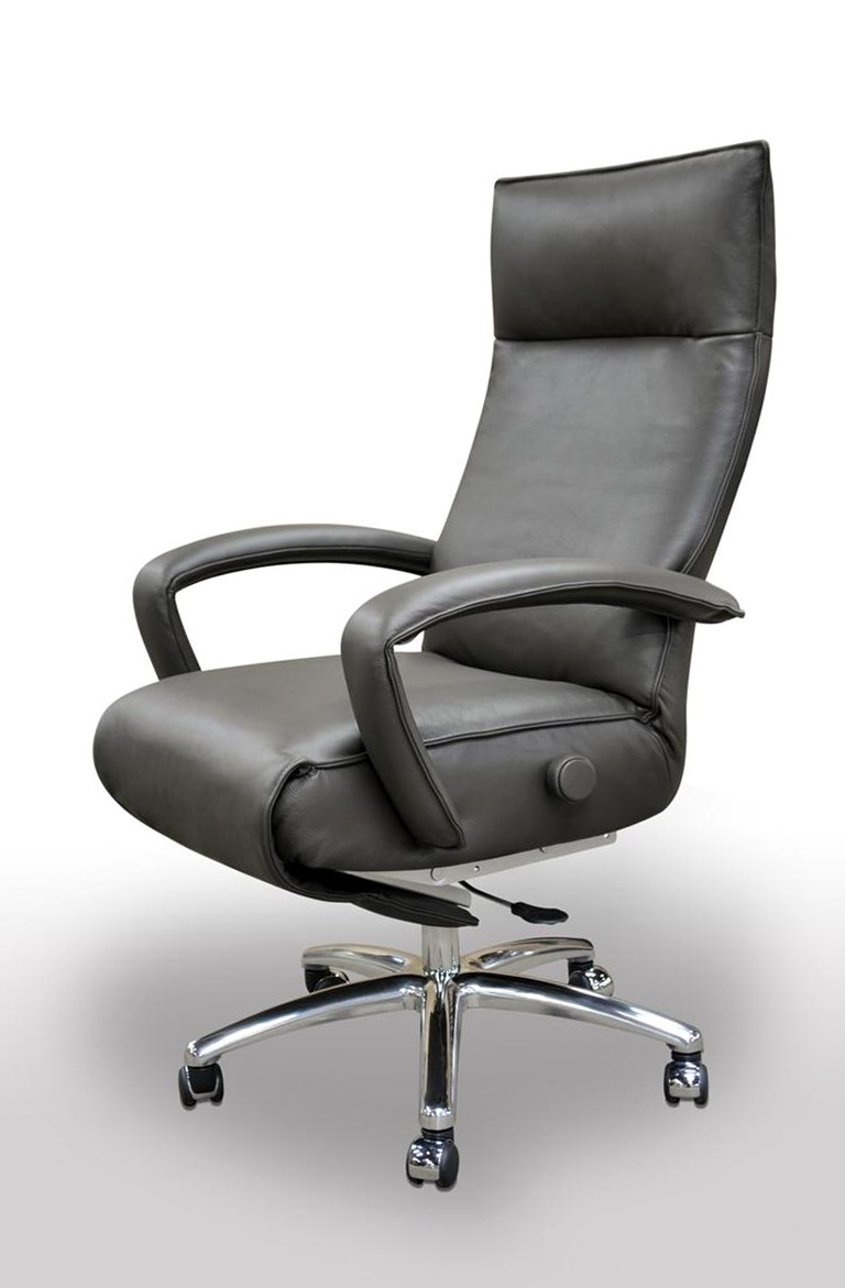 Reclining Office Chair On Wheels