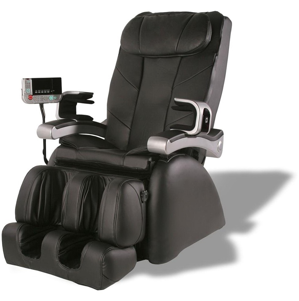Shiatsu Massage Chair Recliner With Heat Stretched Foot Rest 06c