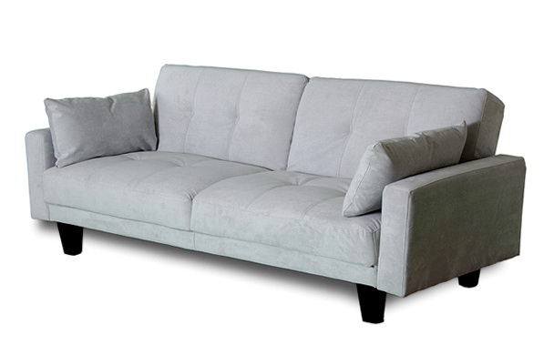 Sienna Convertible Sofa Bed Futon Gray