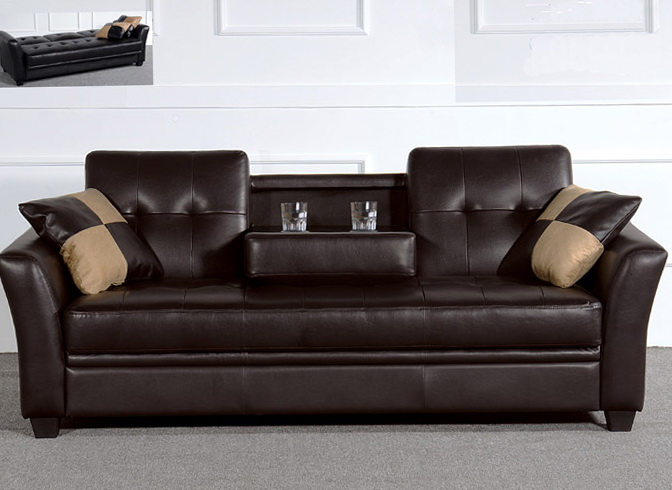 Sienna Convertible Sofa Bed Futon