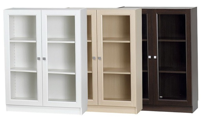 Small Bookcases With Doors