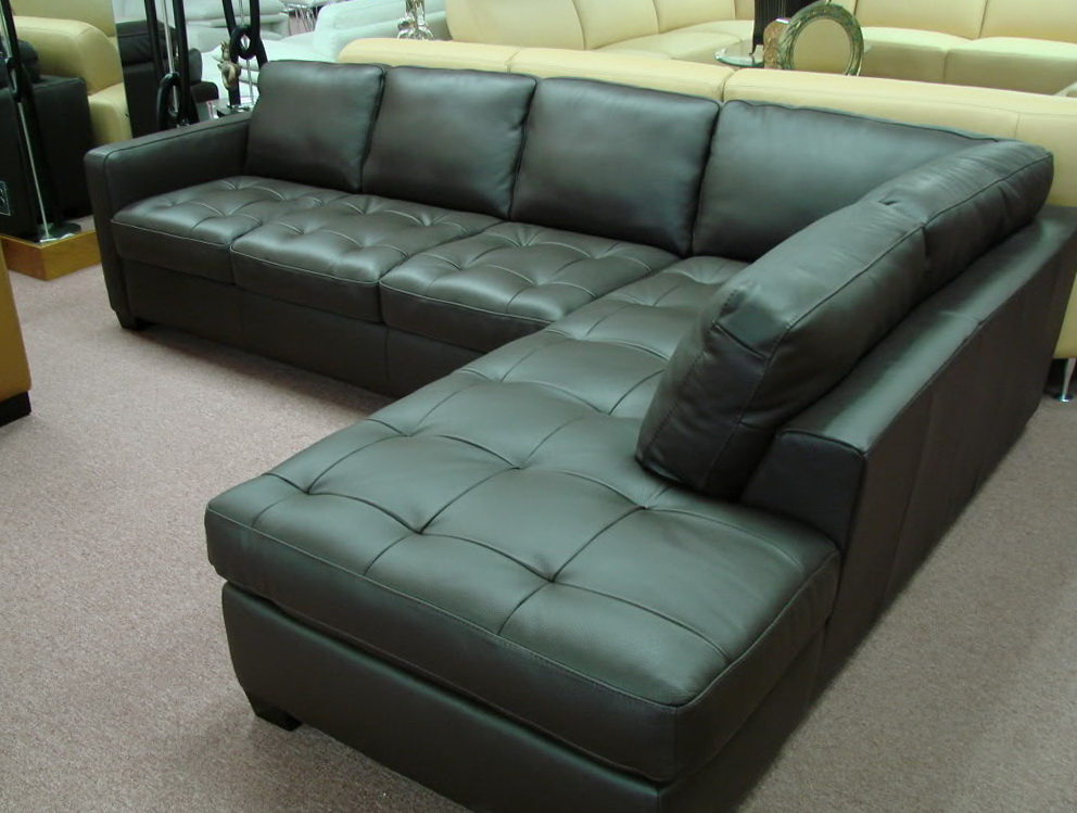 Small Leather Sectional Sofas