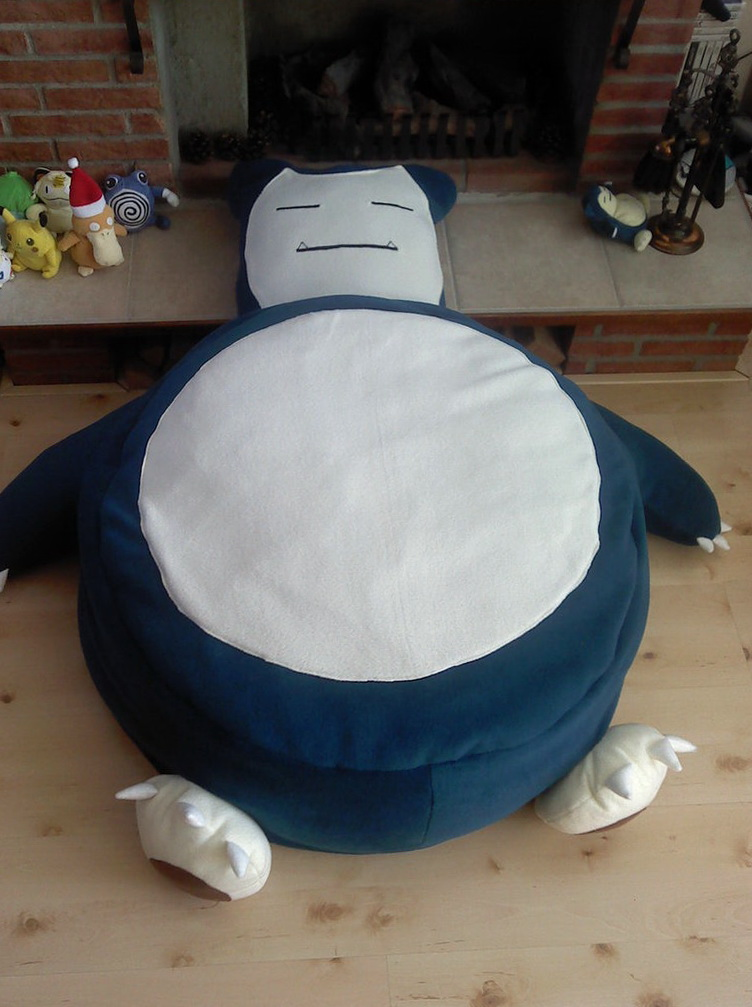 Snorlax Bean Bag Chair Ebay