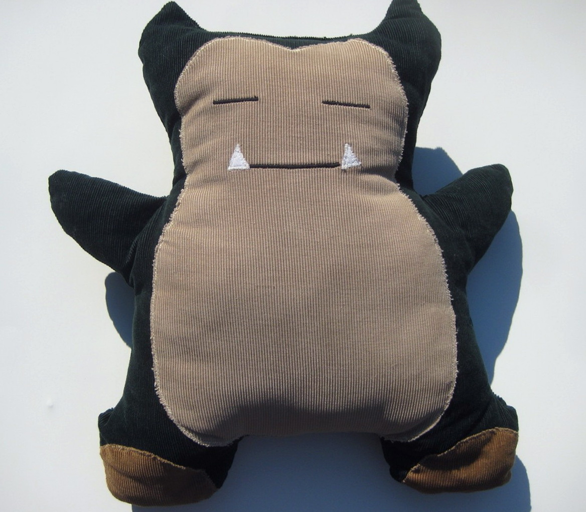 Snorlax Bean Bag Chair Tutorial