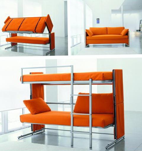 Sofa Bunk Bed Transformer