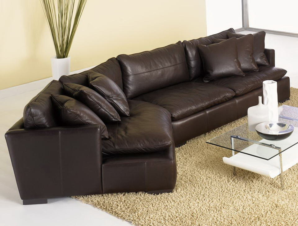 Sofa With Chaise And Cuddler
