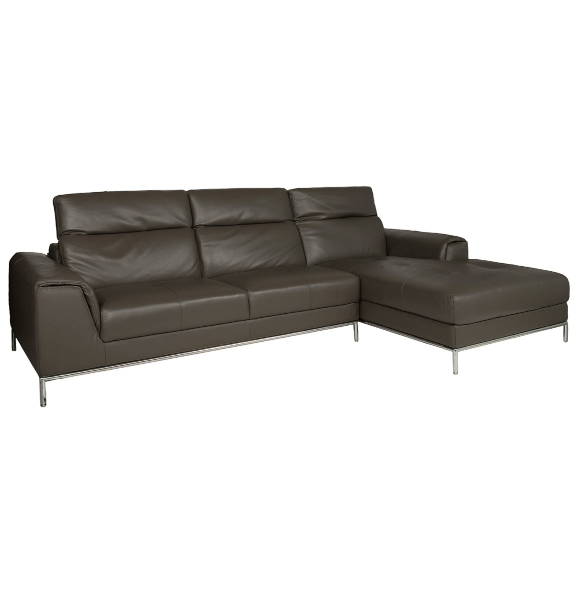 Sofa With Chaise Leather