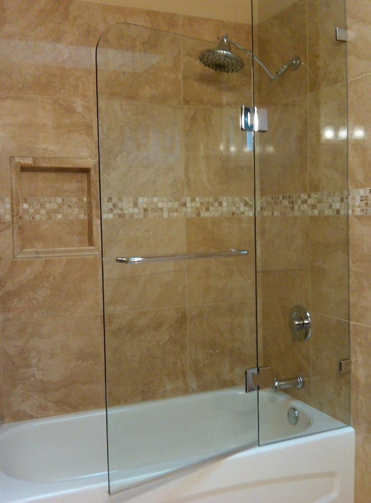 Tub Shower Glass Doors