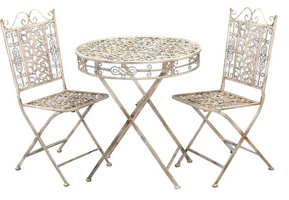 Vintage Bistro Table And Chairs