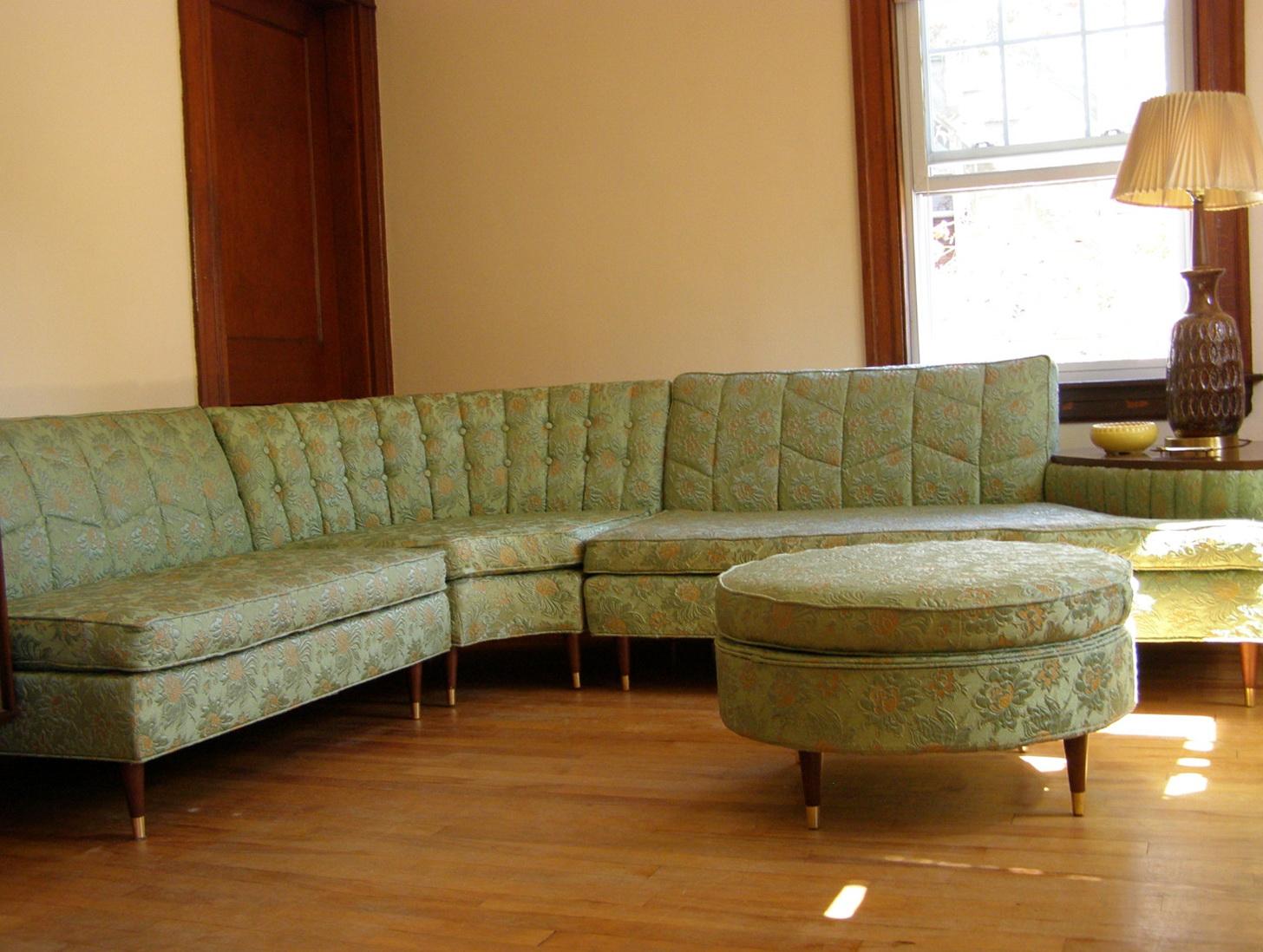 Vintage Mid Century Modern Sofa