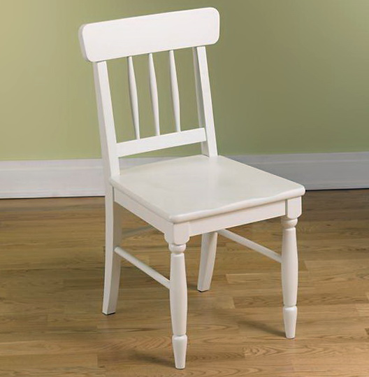 White Desk Chair Wood