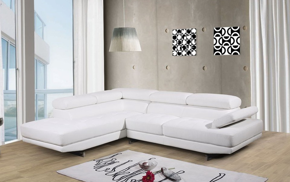 White Leather Sofa Uk