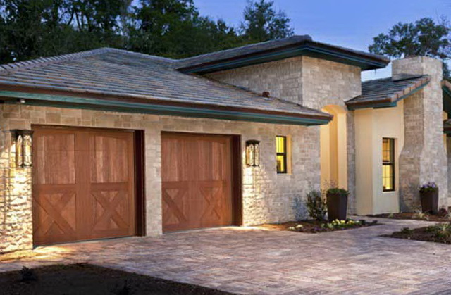 Wood Garage Doors Houston