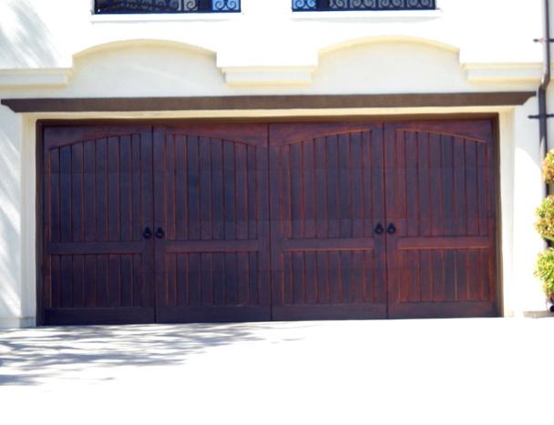 Wood Garage Doors Los Angeles