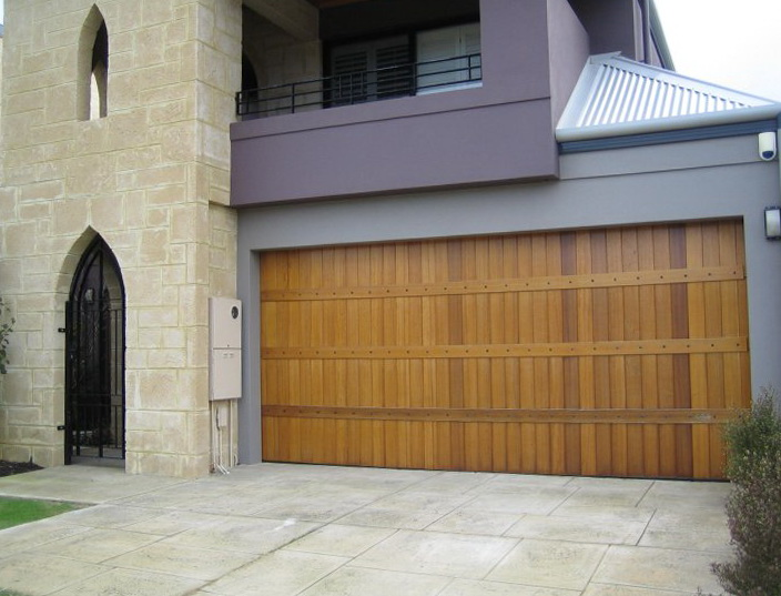 Wood Garage Doors Mn