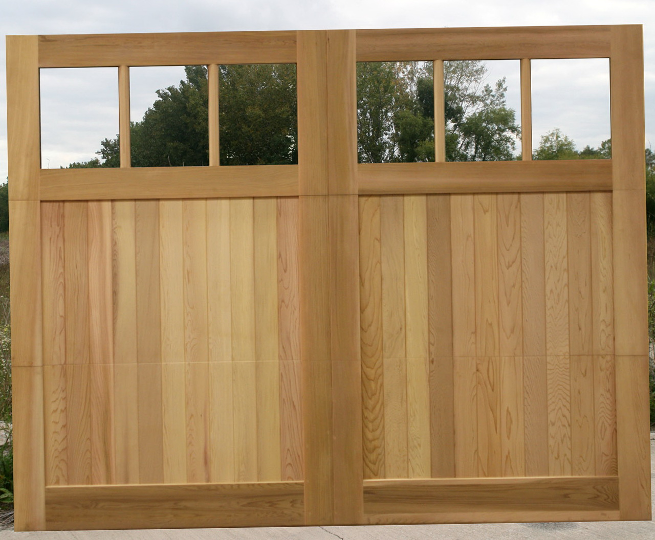Wood Overhead Garage Doors