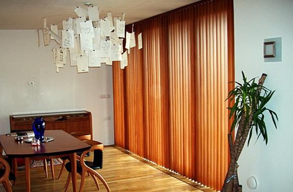 Wood Vertical Blinds For Sliding Glass Doors
