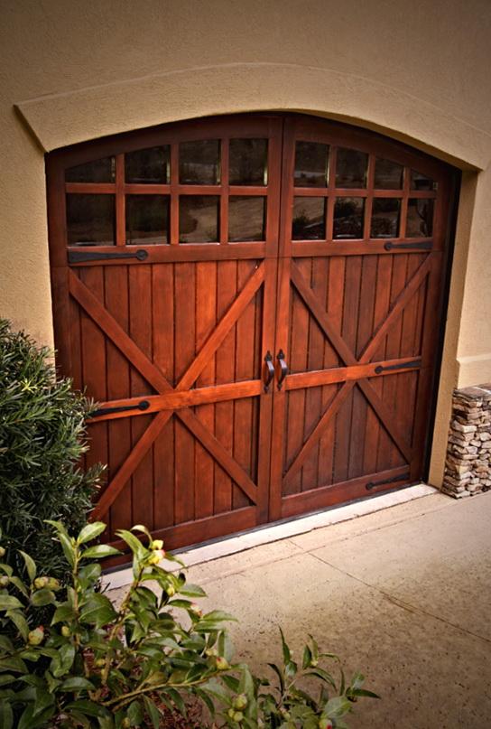 Wooden Carriage Garage Doors
