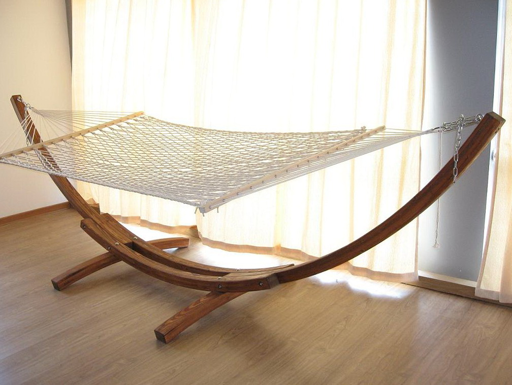 Wooden Hammock Chair Stand