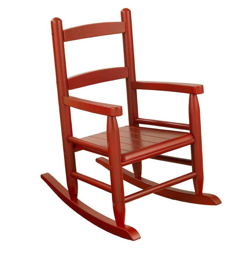 Wooden Kids Rocking Chair