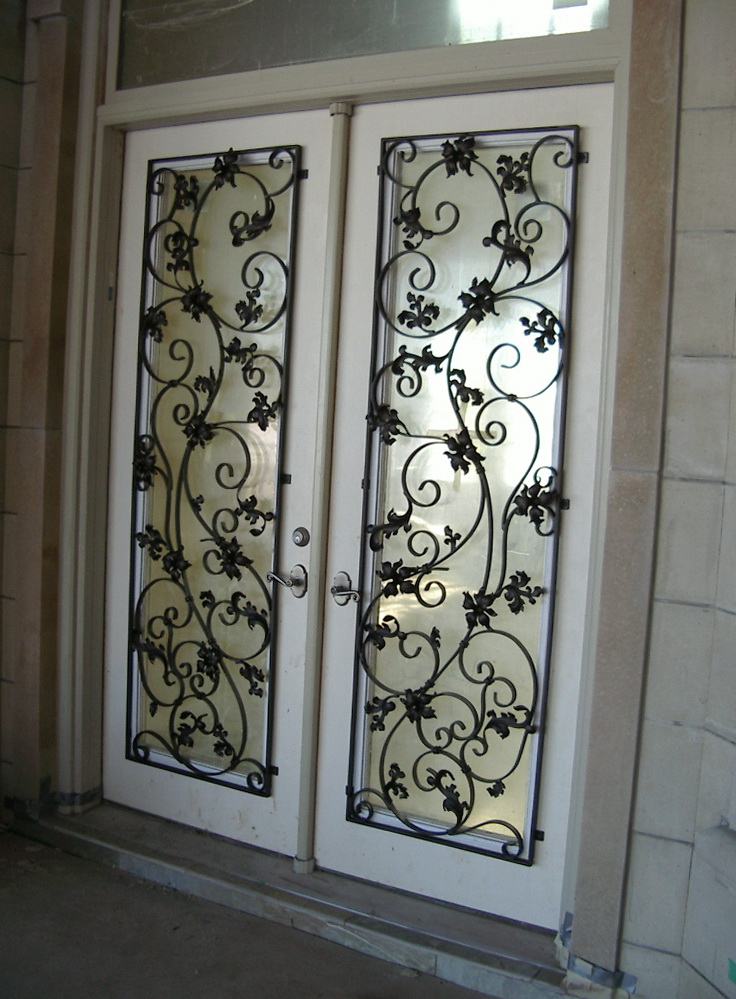 Wrought Iron Doors Designs