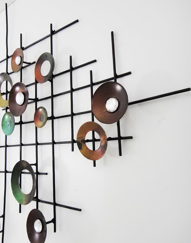 Abstract Wall Art Metal