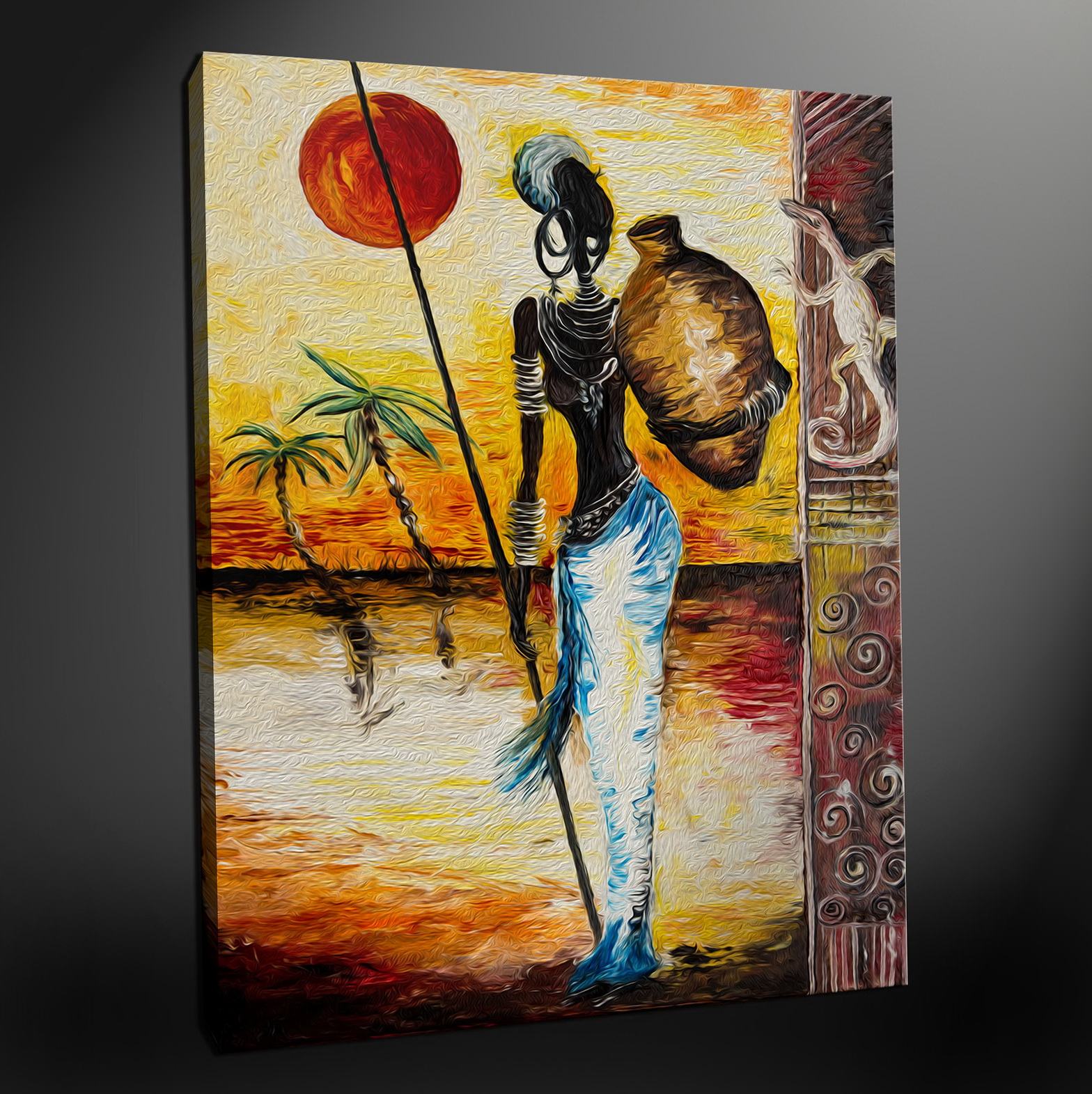 African Wall Art And Decor Uk