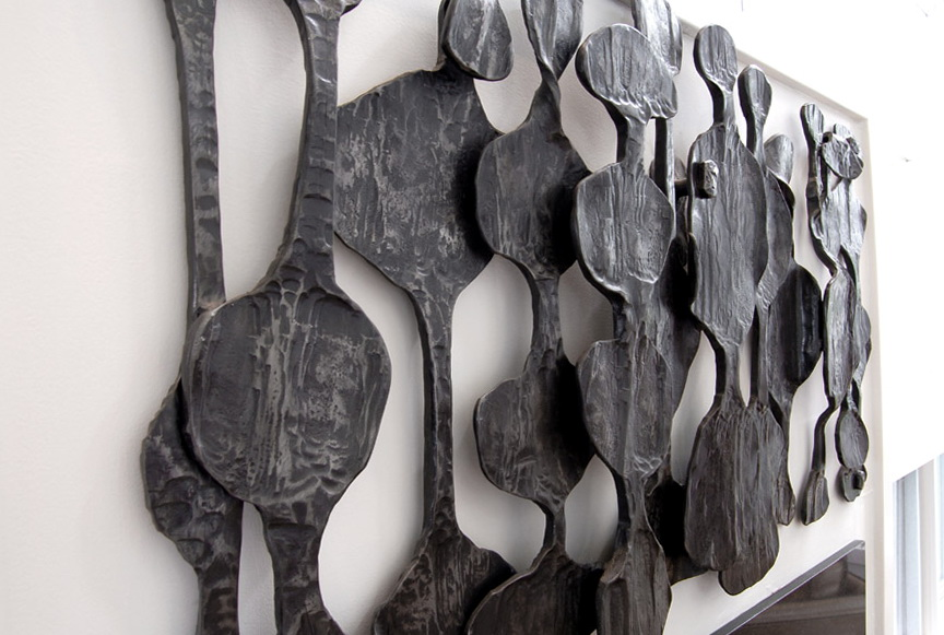 African Wall Art Sculpture