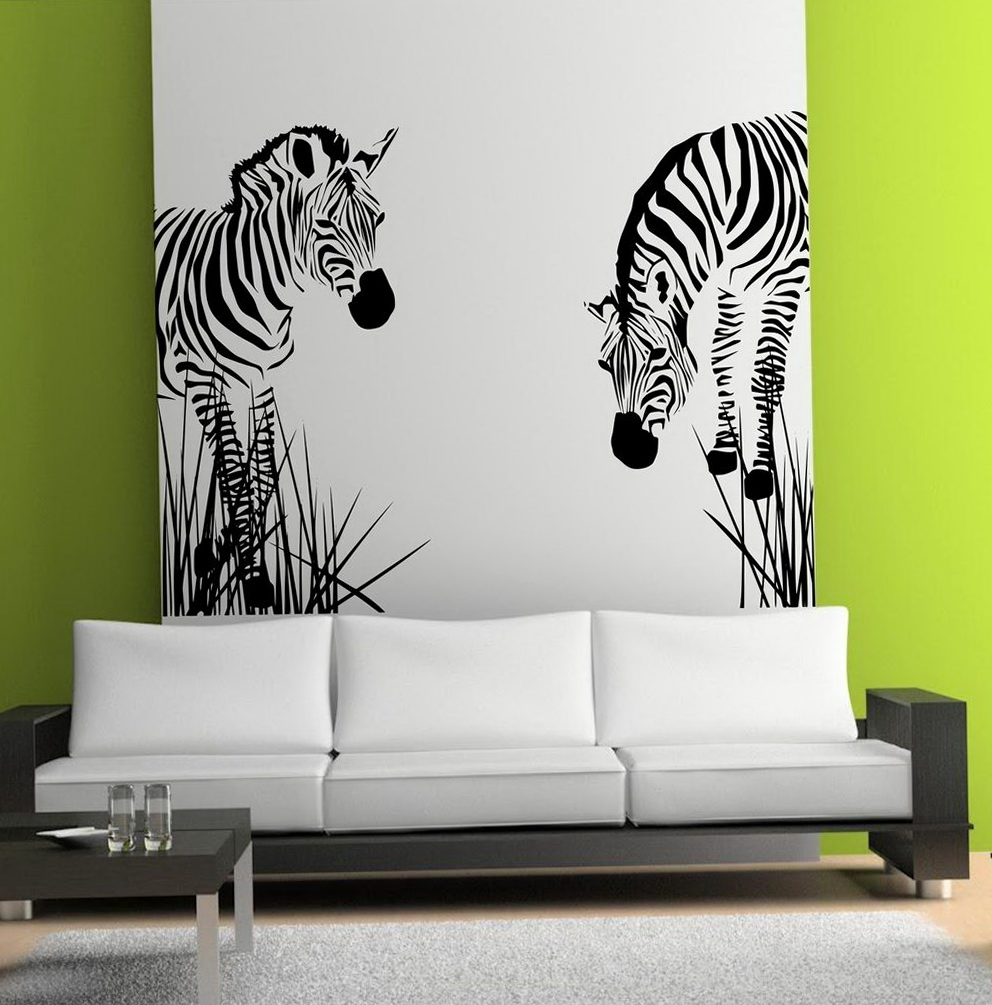 African Wall Art Stickers