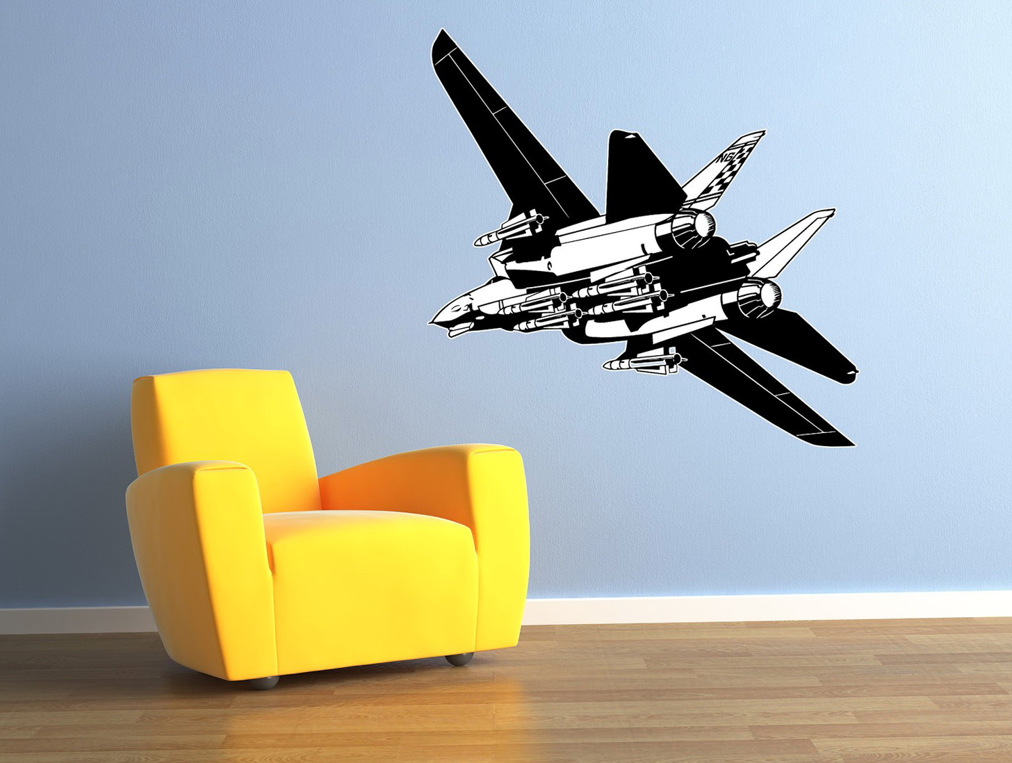 Airplane Wall Art Decals