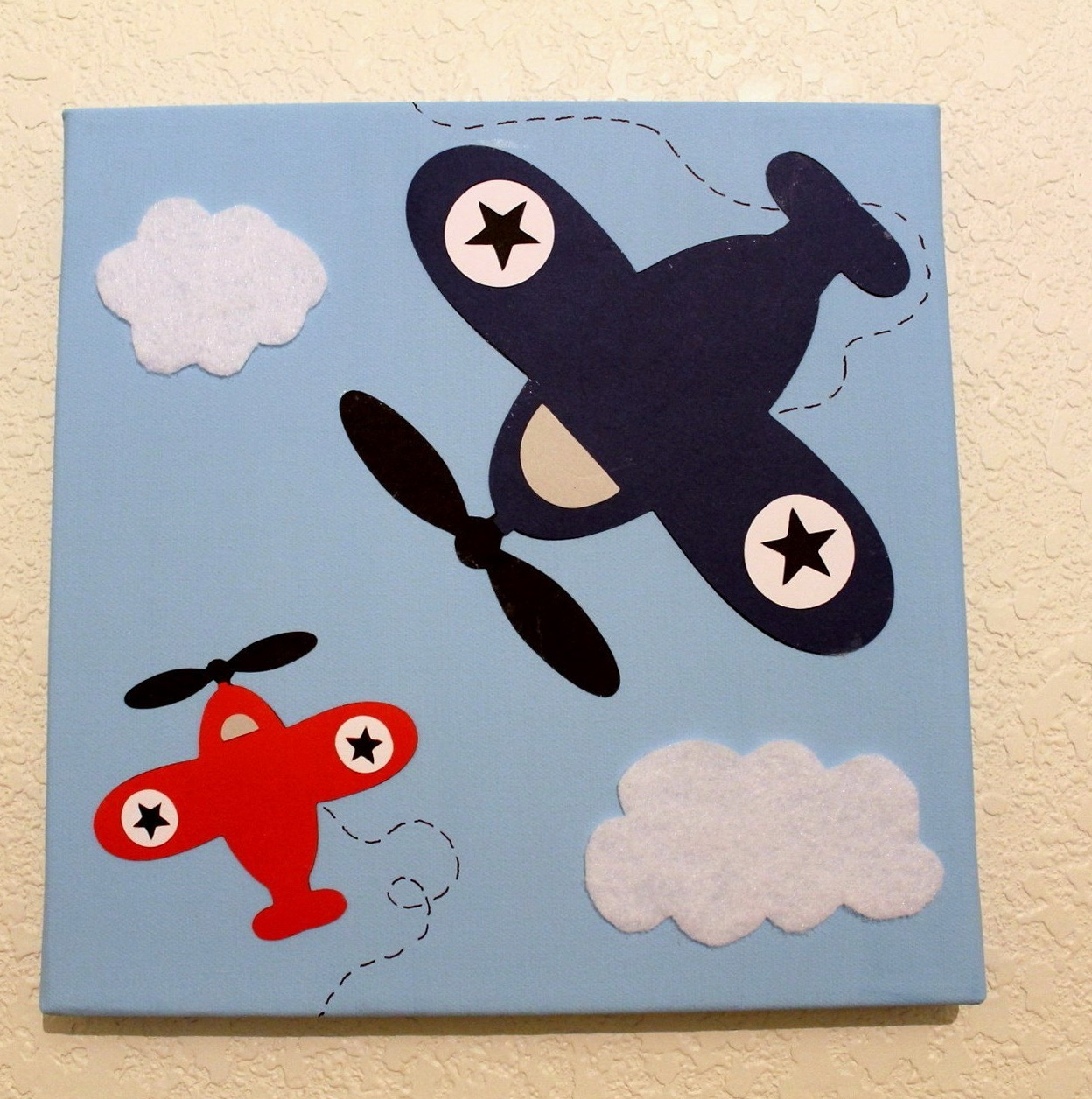 Airplane Wall Art For Nursery