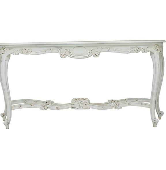 Antique White Sofa Table