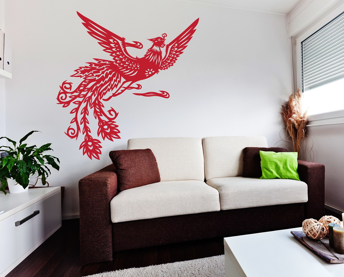Asian Wall Art Decals
