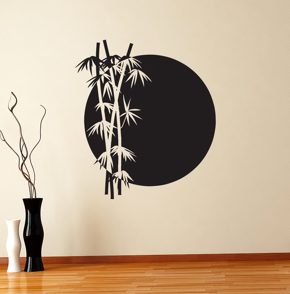 Asian Wall Art Stickers