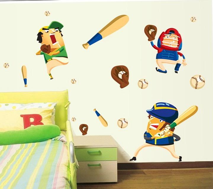 Baseball Wall Art For Kids