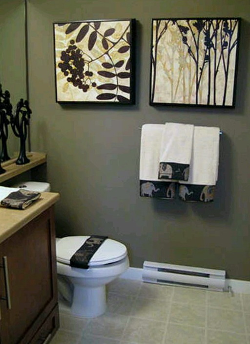 Bathroom Wall Art Canvas