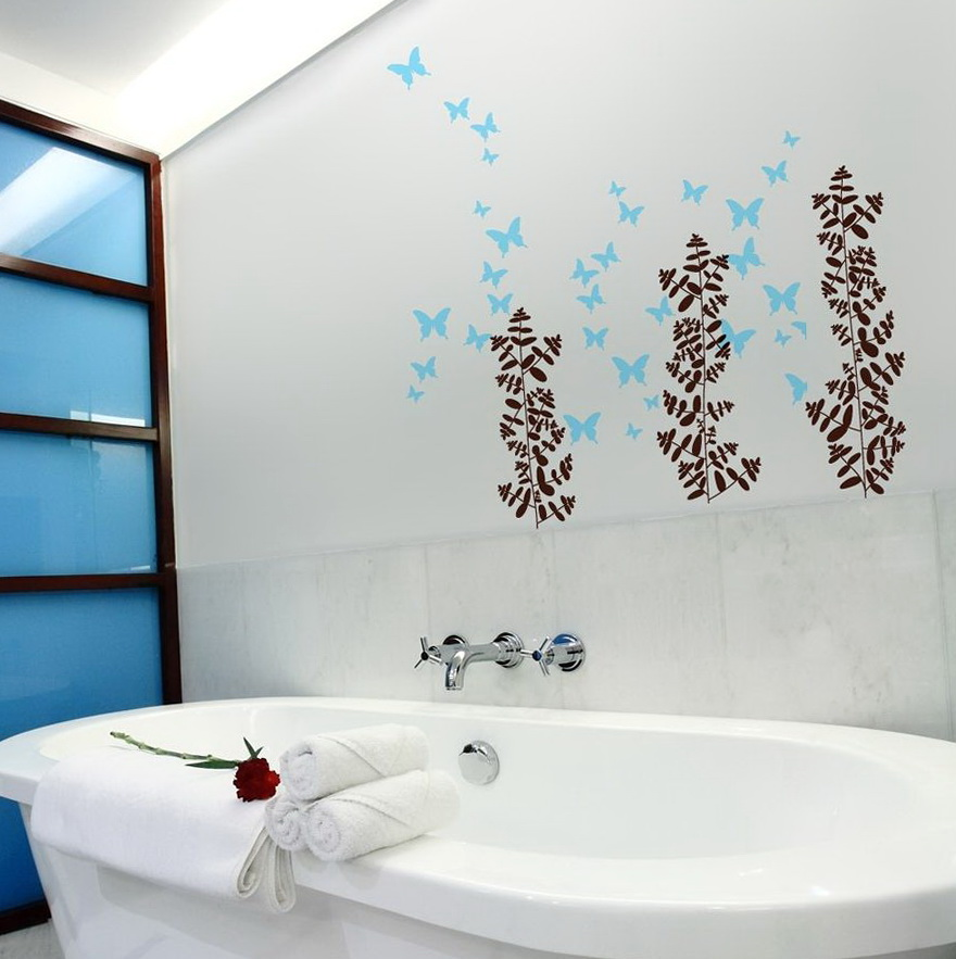 Bathroom Wall Art Stickers