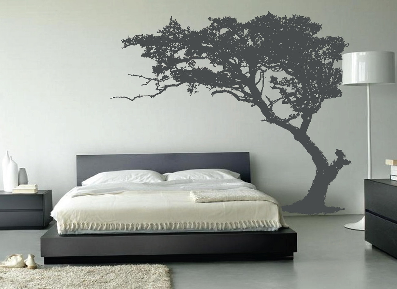 Bedroom Wall Art Trees