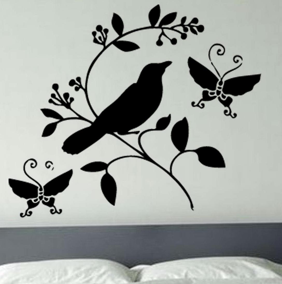 Bird Wall Art Stickers