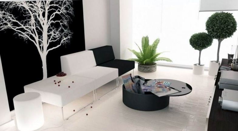 Black And White Wall Art Living Room